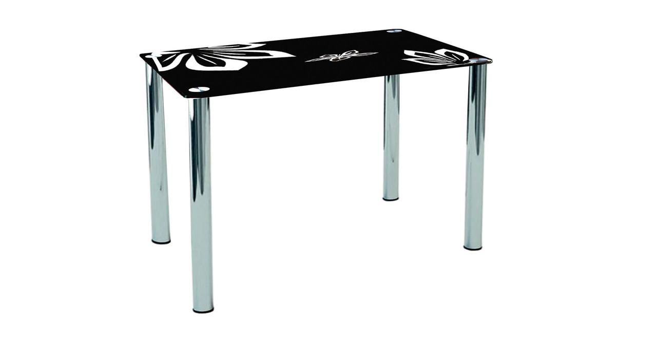 Концепт стеклянный стол Sentenzo 900х650х750 мм