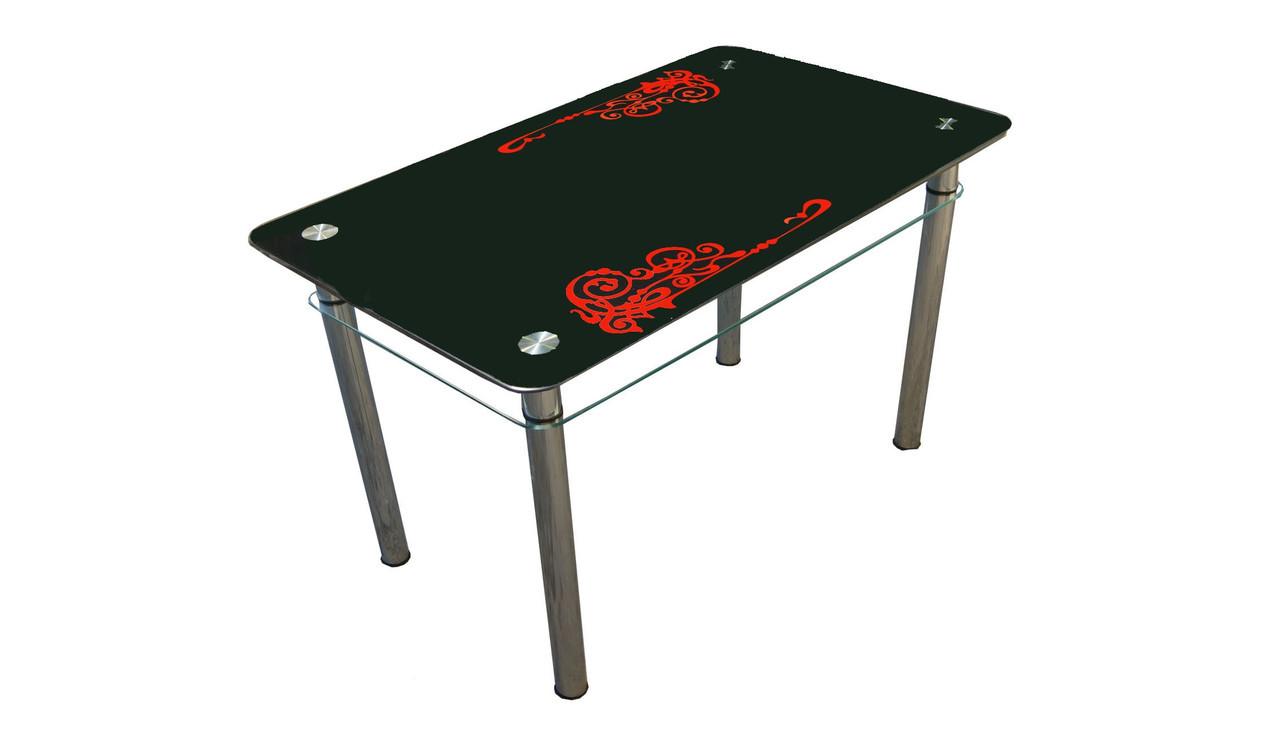 Стеклянный стол Мелодия