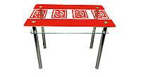 Стеклянный стол Улитки Sentenzo