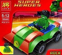 Конструктор Lele Super Heroes аналог (LEGO Super Heroes) HULK