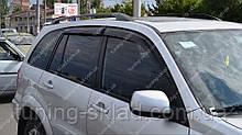 Ветровики окон Тойота Рав 4 2 (дефлекторы боковых окон Toyota Rav 4 2)