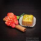 """Шоколадные конфеты ручной работы """"Марципановый презент"""", 1 шт, 15 г., фото 5"""