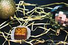 """Шоколадные конфеты ручной работы """"Марципановый презент"""", 1 шт, 15 г., фото 3"""