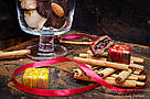 """Шоколадные конфеты ручной работы """"Марципановый презент"""", 1 шт, 15 г., фото 2"""