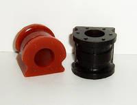 Втулка стабілізатора переднього поліуретан VOLKSWAGEN POLO IV ID=18mm OEM:6Q0411314N, фото 1