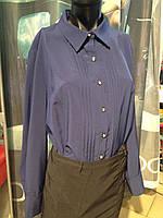 Блуза  синяя BerdToni