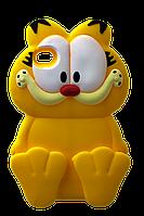 Чехол силиконовый Garfield для iPhone 4 Yellow