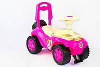 Машинка каталка 198 Орион, розовый, фото 1