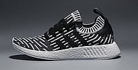 Мужские кроссовки Adidas Originals NMD V4 (light grey/black
