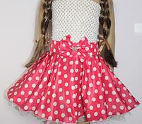 Дитяча Спідниця в горошок. Будь-які кольори і розміри., фото 2