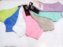 215 Шкарпетки жіночі сітка р.23-25 льон