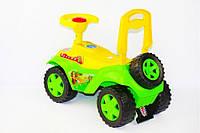 Машинка каталка 198 Орион, зеленый, фото 1