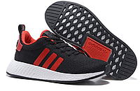Мужские кроссовки Adidas Originals NMD Runner (black/red)