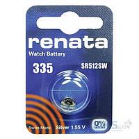 Батарейки Renata 335 (SR512SW) 1 шт.