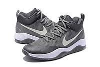 Баскетбольные кроссовки Nike Hyperrev 2017 серые