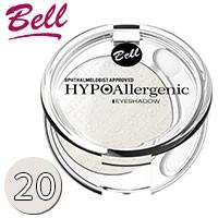 Bell HypoAllergenic - Тени для век 1-цв. EyeShadow Тон 20 белые сатиновые