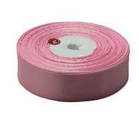 Светло розовая атласная лента 0,6см