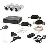 Комплект видеонаблюдения Tecsar AHD 3OUT (6638)