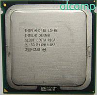 Intel Xeon L5408 (SLBBT, 12M Cache, 2.13 GHz, 1066 MHz FSB) +перехідник