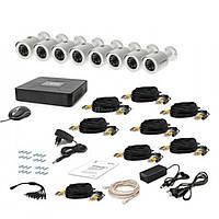 Комплект видеонаблюдения Tecsar AHD 8OUT + HDD 1TB (6908)