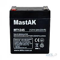 Аккумулятор для ИБП MastAK 12V 4,5Ah (MT1245)