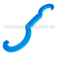 Ключ монтажный 16х75 (синий) Unidelta