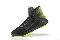 Баскетбольные кроссовки Nike Prime Hype DF 2016 black-green