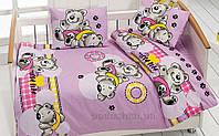 Детское постельное белье Class Ayicik V2 Lila Детский комплект