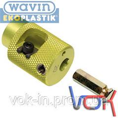 Обрезное устройство на дрель (Wavin Ekoplastik) D40