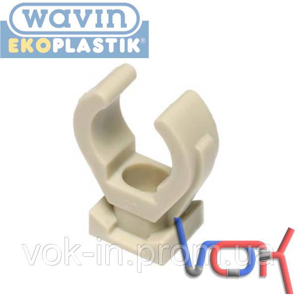 Крепление для труб PP-R пласт. d75 (Wavin Ekoplastik)