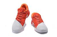 Баскетбольные кроссовки Adidas Harden Vol. 1 white-orange