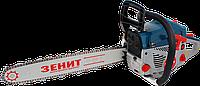 Бензиновая цепная пила Зенит БПЛ-455/2250-2 (2 шины, 2 цепи) заготовка дров