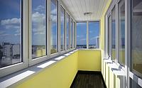 Металлопластиковые балконы-лоджии Rehau