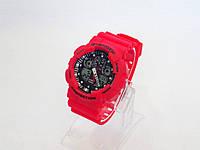 Часы Shock GA-100 копия (Цвет: красный)