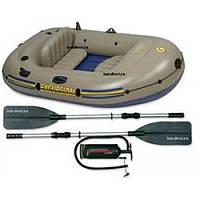 """Надувная лодка Intex """"Excursion 2"""", 68318 (насос, весла)"""