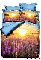 Двуспальное постельное белье Бамбук 3D Class Dus Tarlasi