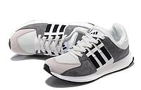 Беговые кроссовки адидас Originals Equipment suede (white/grey/black)