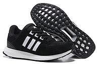 Кроссовки мужские  Adidas Originals Equipment suede (black/white) - 35Z