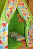"""Детский игровой домик, вигвам, палатка, шатер, шалаш """"Зеленые слонята"""""""