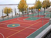 Спортивное наливное покрытие из резиновой крошки для спортивных и детских площадок/баскетбола/тенниса/гольфа
