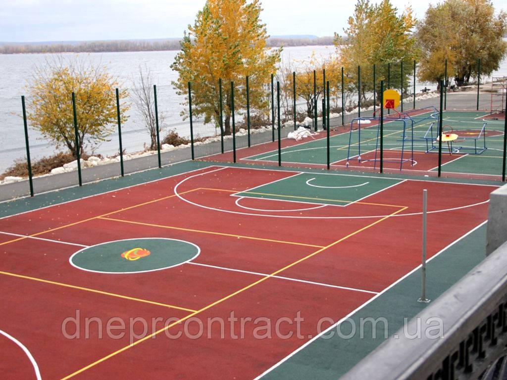 Обслуживание детских и спортивных площадок