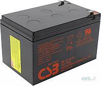 Аккумулятор для ИБП CSB 12В 12 Ач (GP12120 F2)