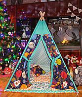 """Детский игровой домик, вигвам, палатка, шатер, шалаш """"Ассорти"""""""