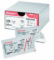 Шовный рассасывающийся материал Monosyn® (B.Braun) аналог монокрил, капросин ВСЕ РАЗМЕРЫ