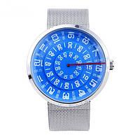 Часы мужские наручные с необычной индикацией
