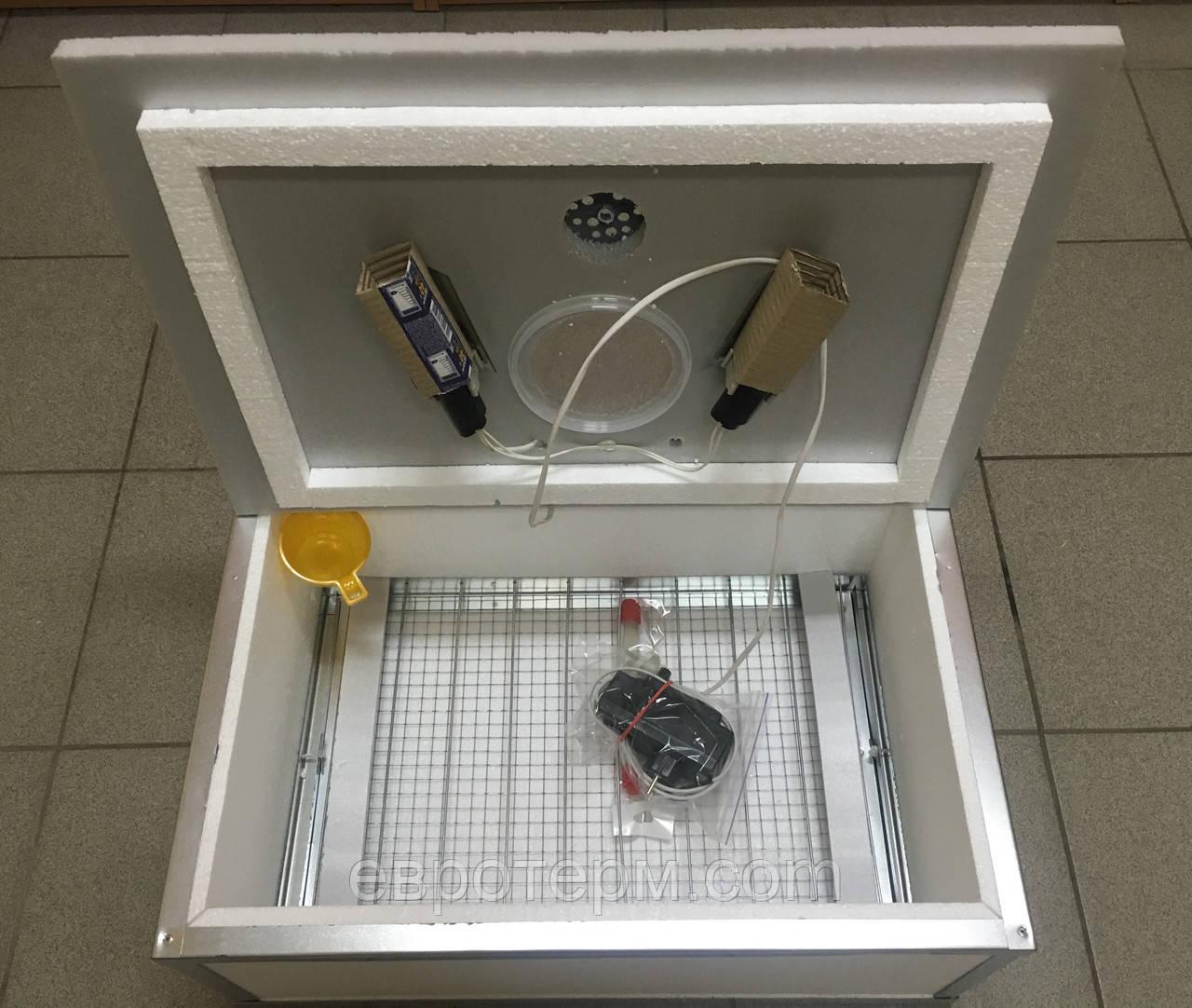 Инкубатор Наседка 140 яиц механический переворот аналоговый терморегулятор