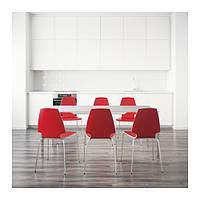 Стол IKEA TORSBY / VILMAR 6 стула