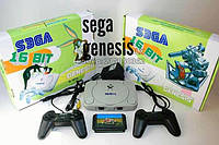 Игровая приставка сега sega mega drive 2 genesis в комплекте с картриджем