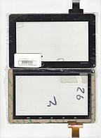Тачскрин (сенсор) №026 для планшета Genesis GT-7200 размер 185x116