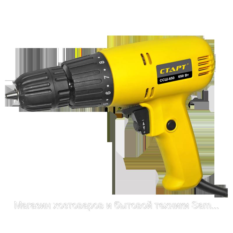 Дрель электрическая ССШ-650